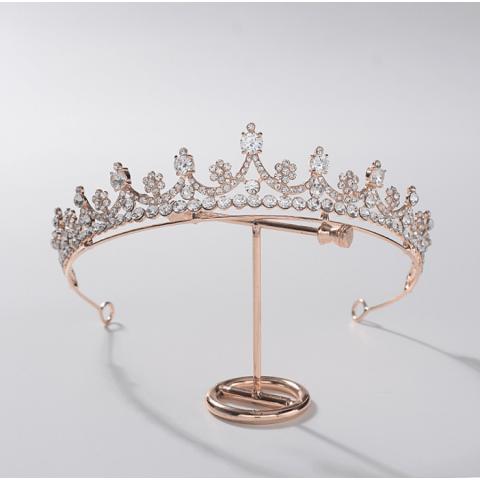 The same style as the star bride zircon crown headdress
