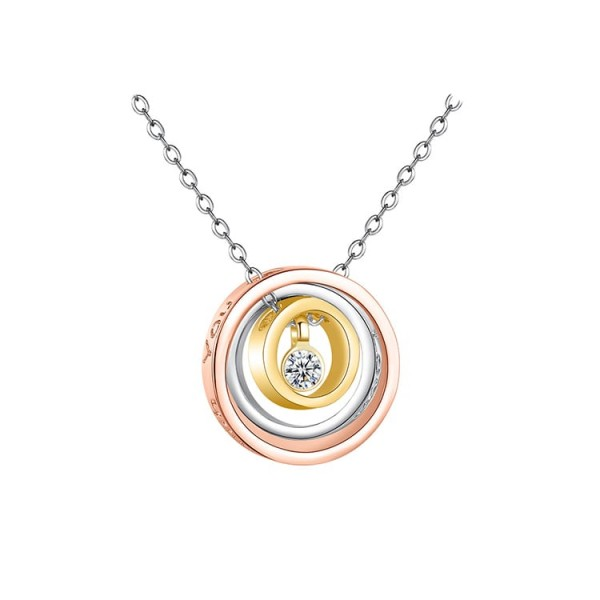 Western Hot Styles Circle Necklace