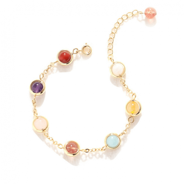 Candy crystal lucky bracelet..