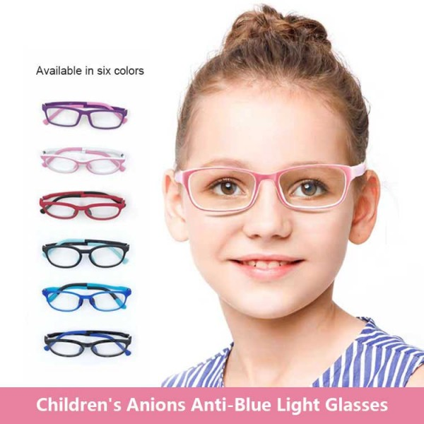 Children anti-blue light glasses