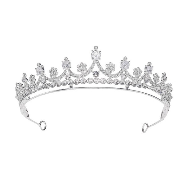 The same style as the star bride zircon crown headdress