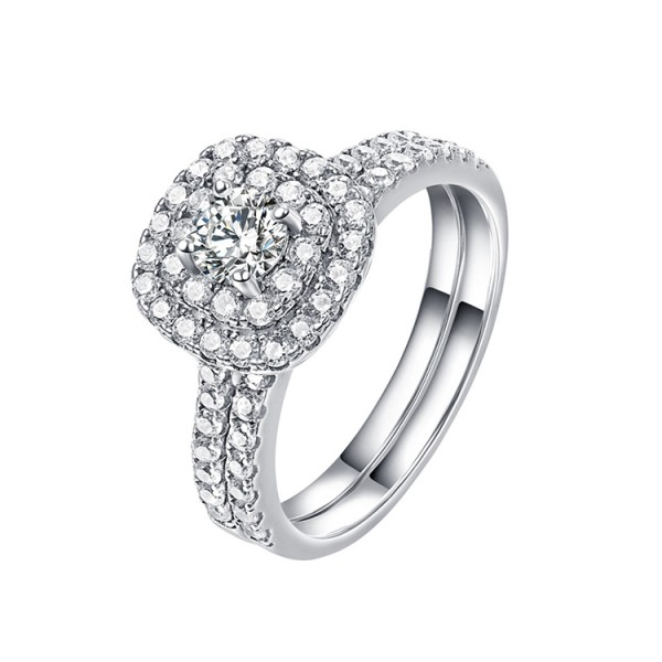 s925 sterling silver 2in1 ring..